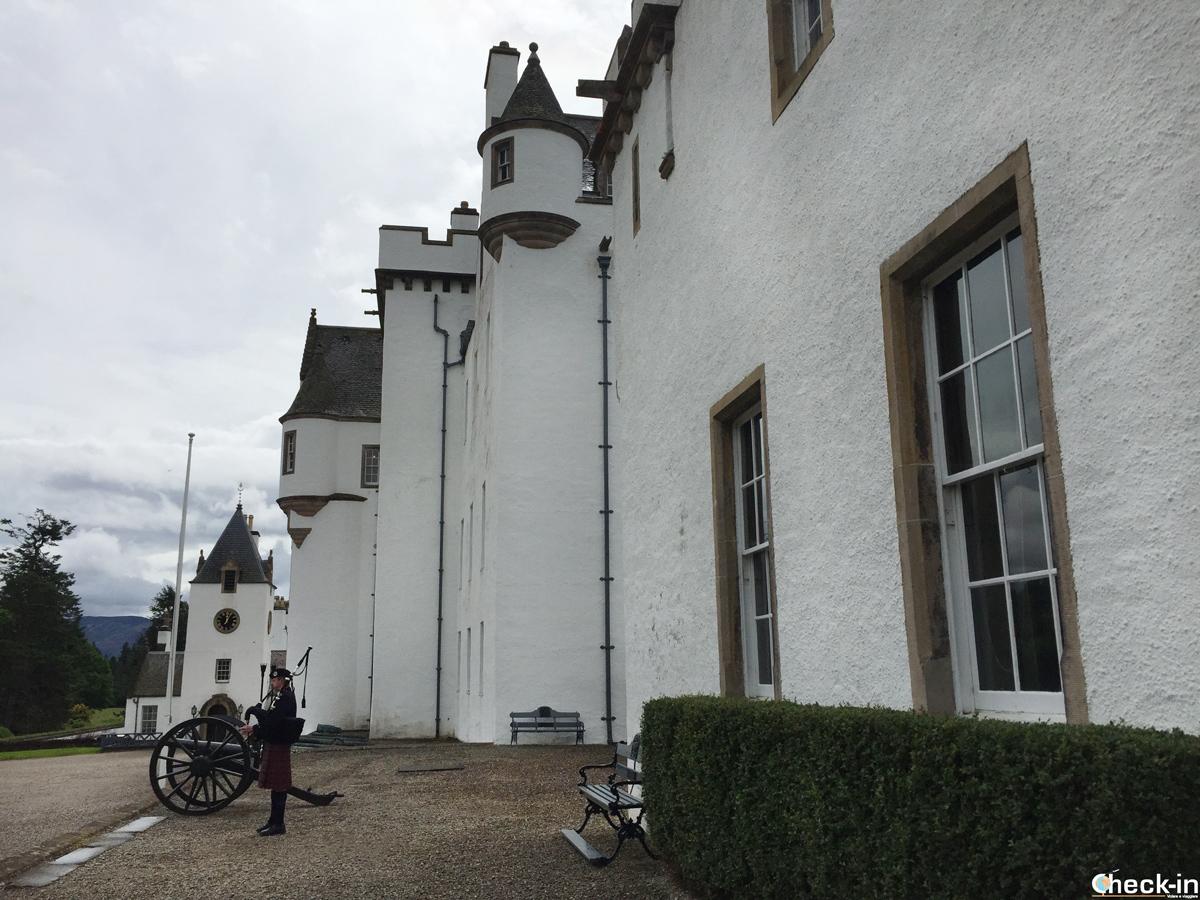 Concerto di cornamusa al Blair Castle