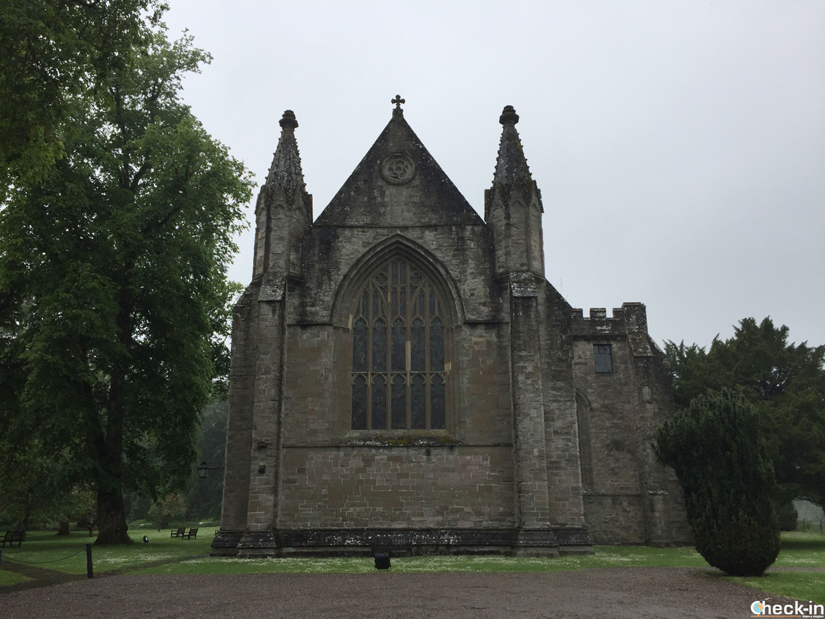 Dunkeld Cathedral in Perthshire, Scotland