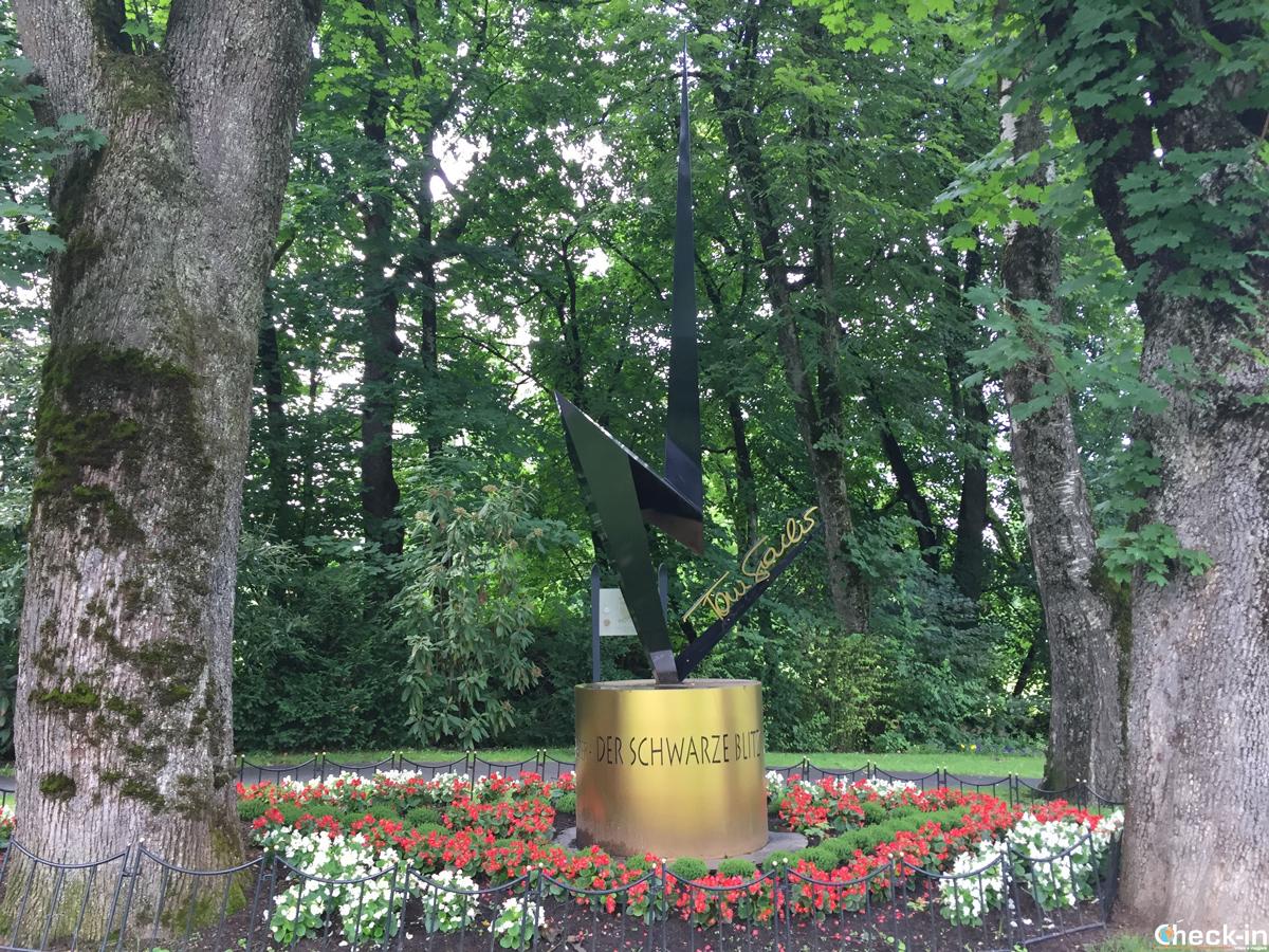 Il Legenden Park alla fine della Streif di Kitzbühel - Tirolo, Austria
