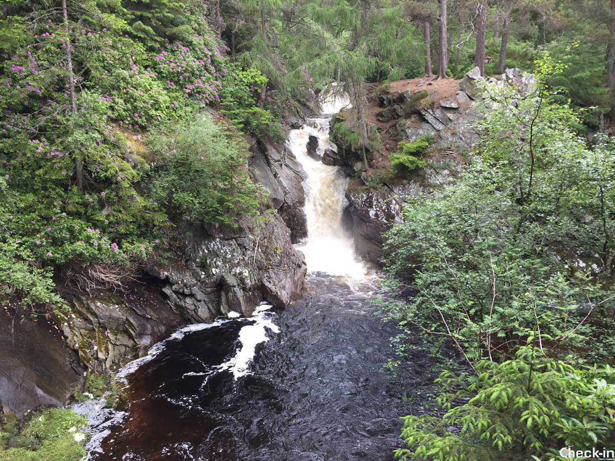Le pools vicino alle lower Falls of Bruar - Pitlochry, Scozia