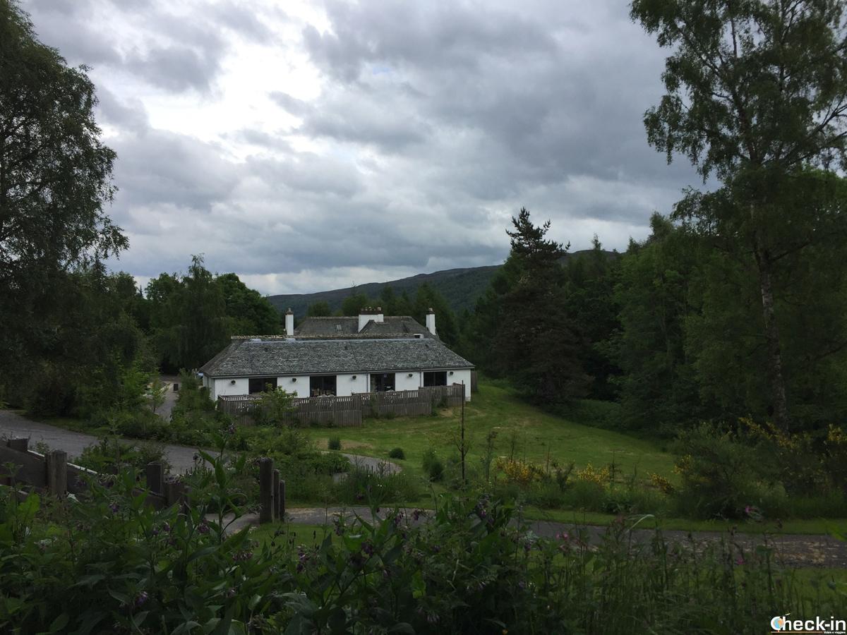 Il Visitor Centre presso Queen's View nei dintorni di Pitlochry (Scozia)