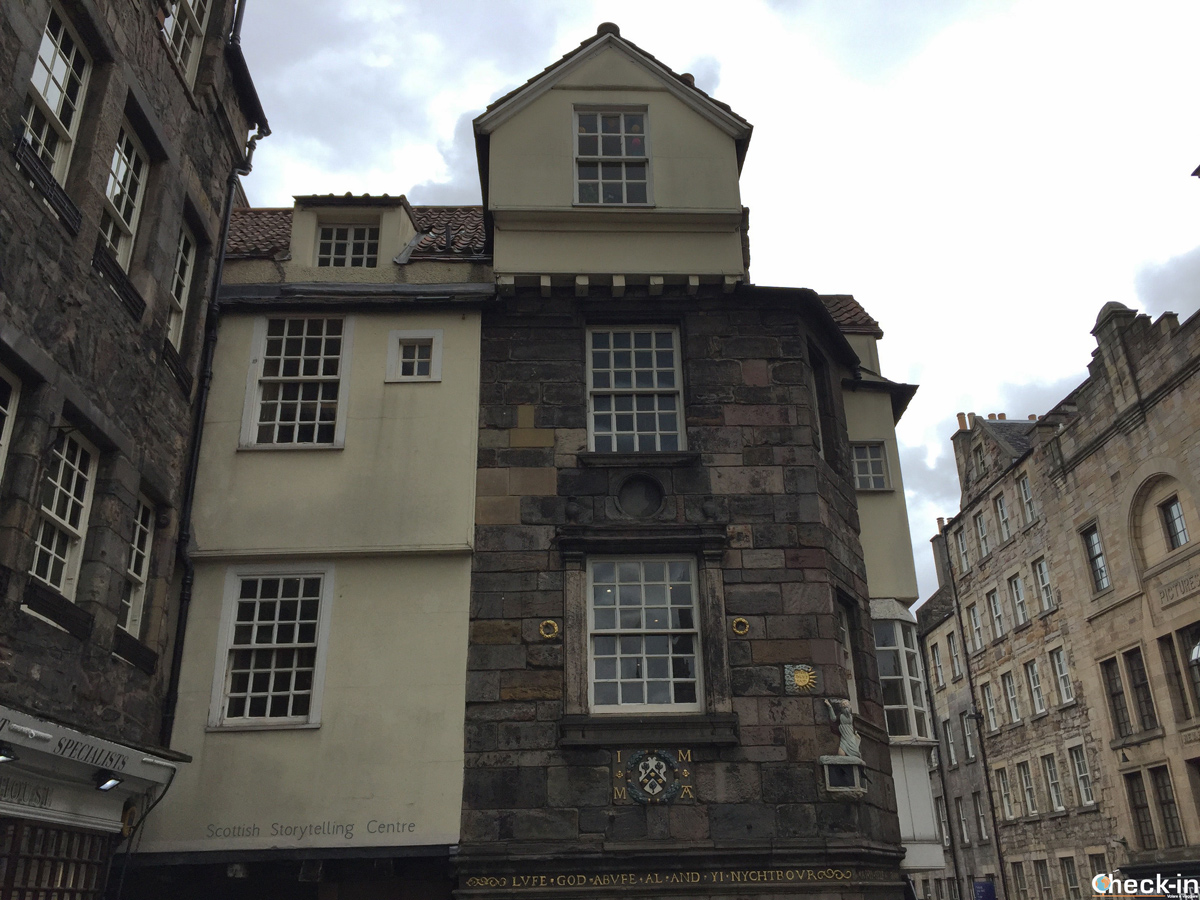 La John Knox House e lo Scottish Storytelling Centre