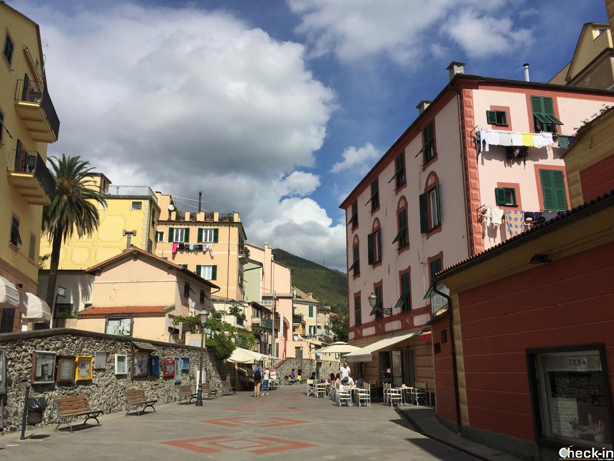 Arenzano, borgo marinaro ligure della riviera di Ponente