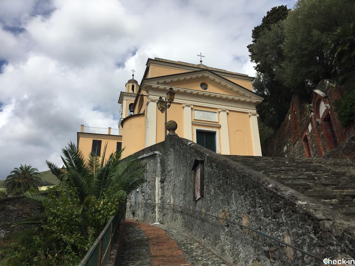 Santuario di Nostra Signora Annunziata delle Olivete a Arenzano, Liguria