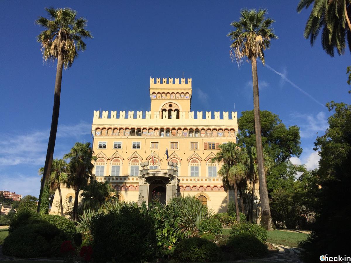 Il Parco di Villa Negrotto Cambiaso a Arenzano
