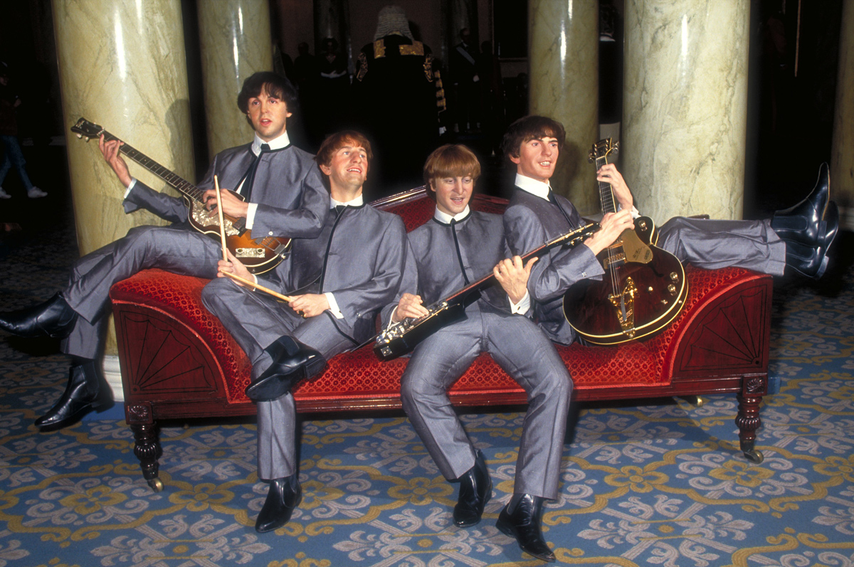 Le cere dei Beatles al Madame Tussauds di Londra