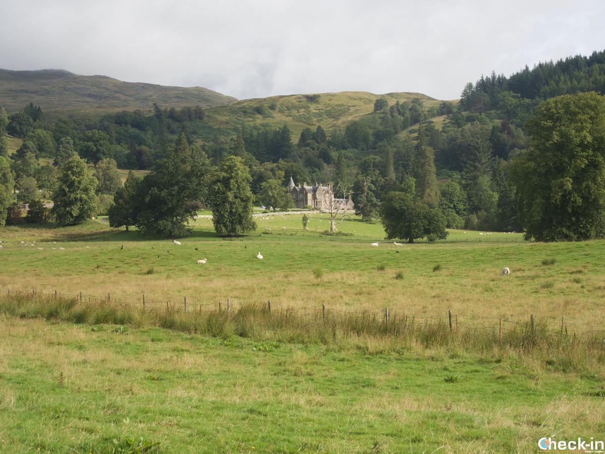 Primo scorcio delle Highlands in tour da Edimburgo a Loch Ness
