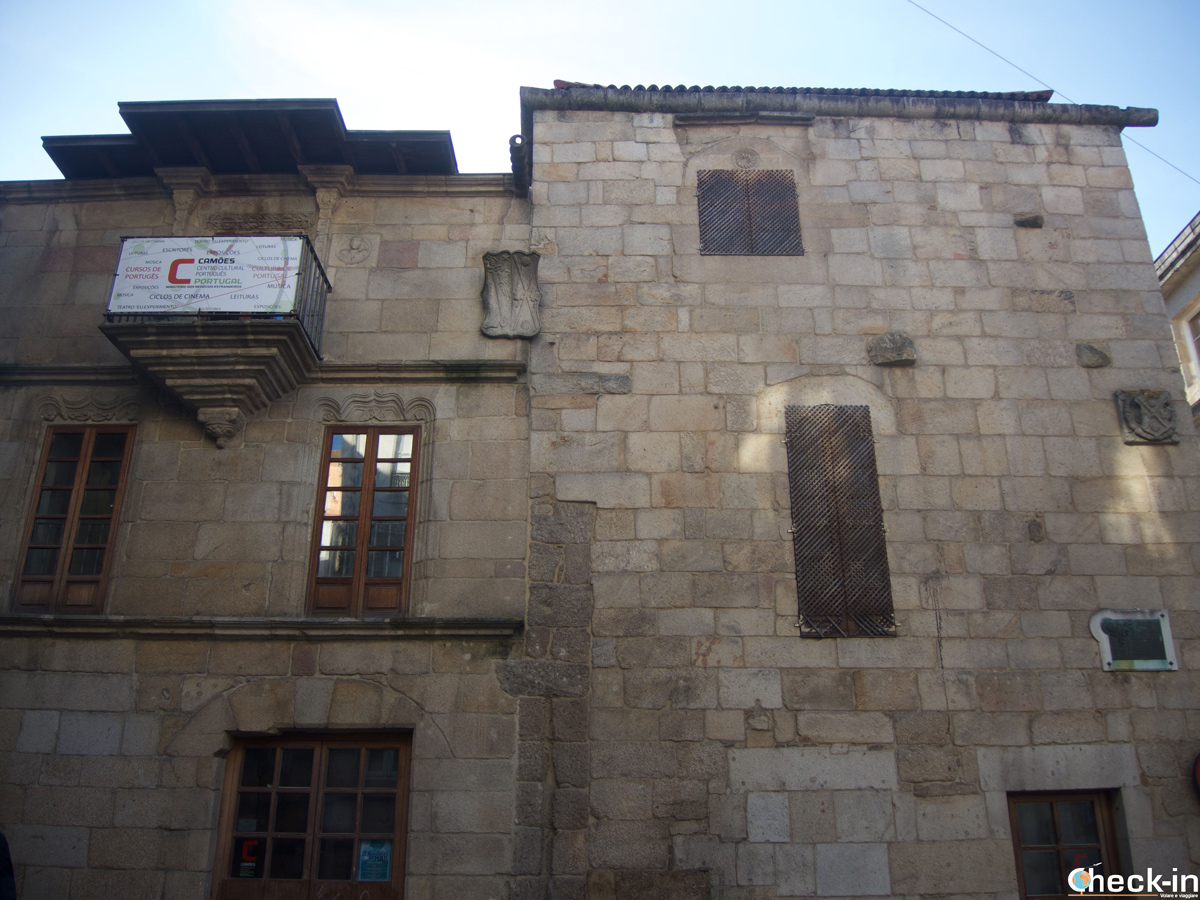 Casa de Ceta en el casco viejo de Vigo - Galicia, España del norte