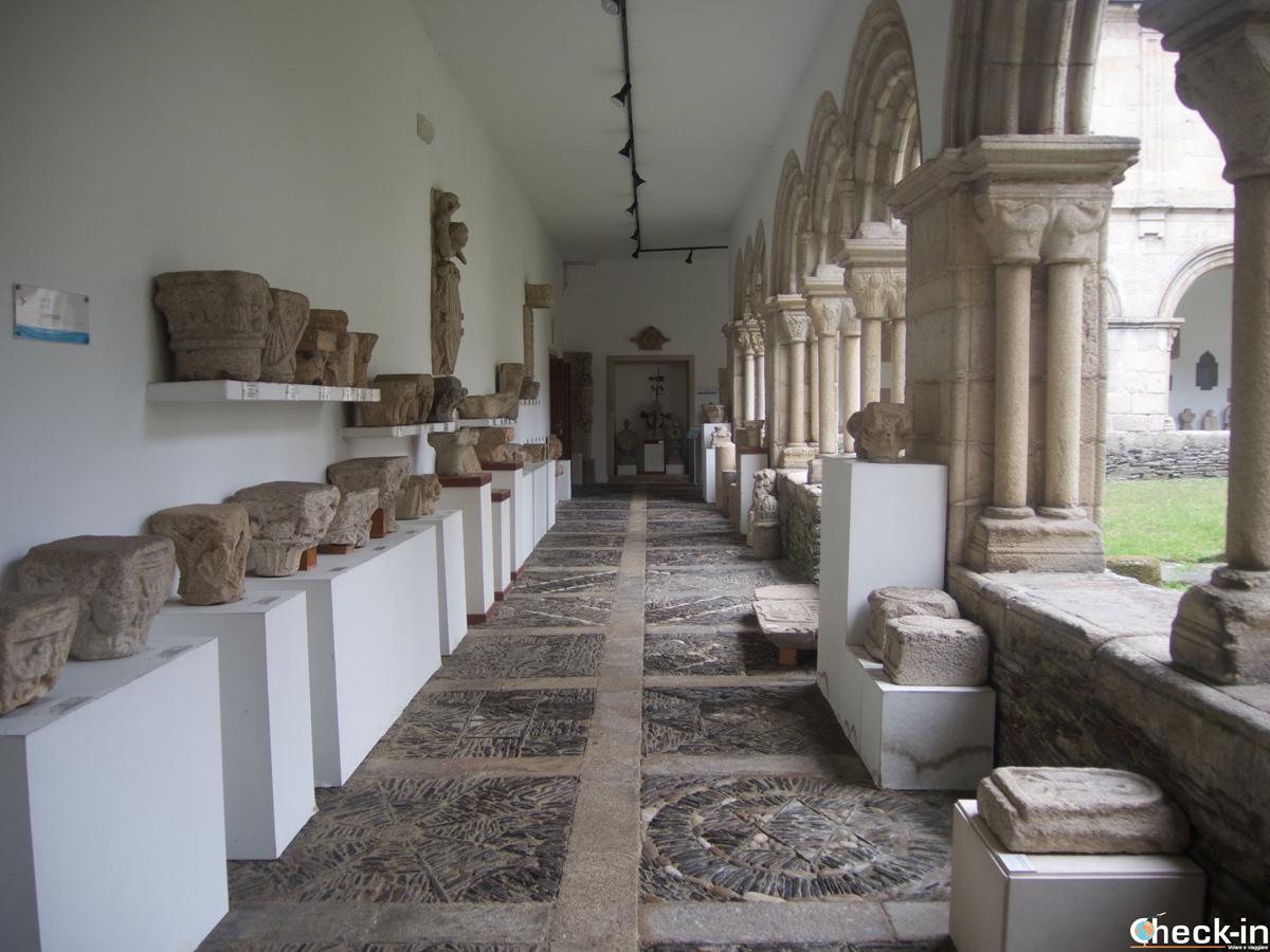 El claustro del Museo Provincial de Lugo, España