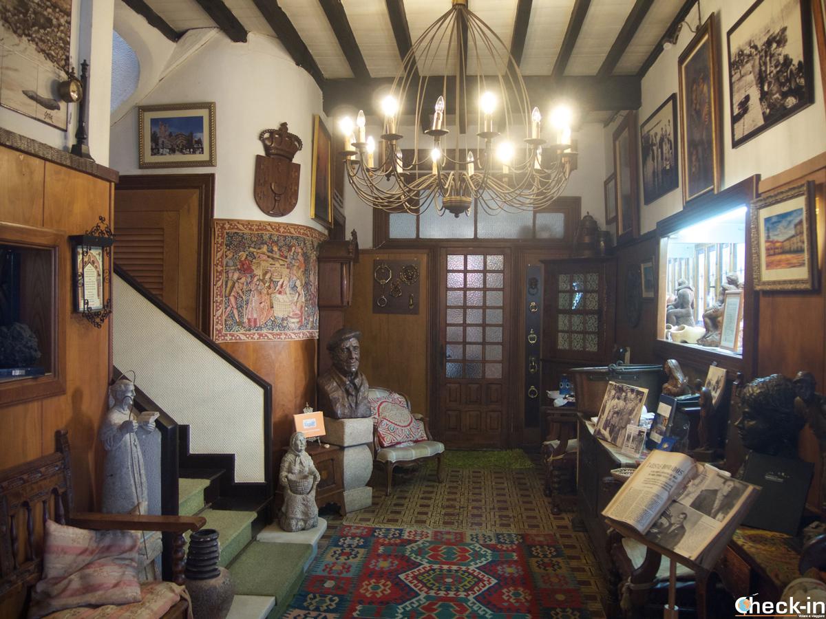 Visita de la Casa histórica de Cambados - Galicia, España