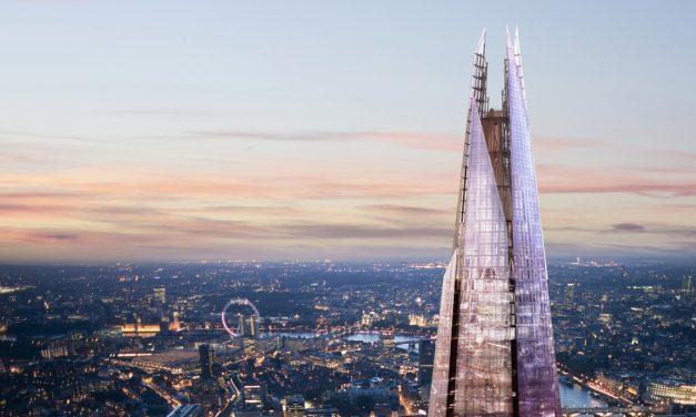 The Shard, informazioni e curiosità sul grattacielo di Londra progettato da Renzo Piano. Acquisto dei biglietti online per saltare la coda e risparmiare sul prezzo intero
