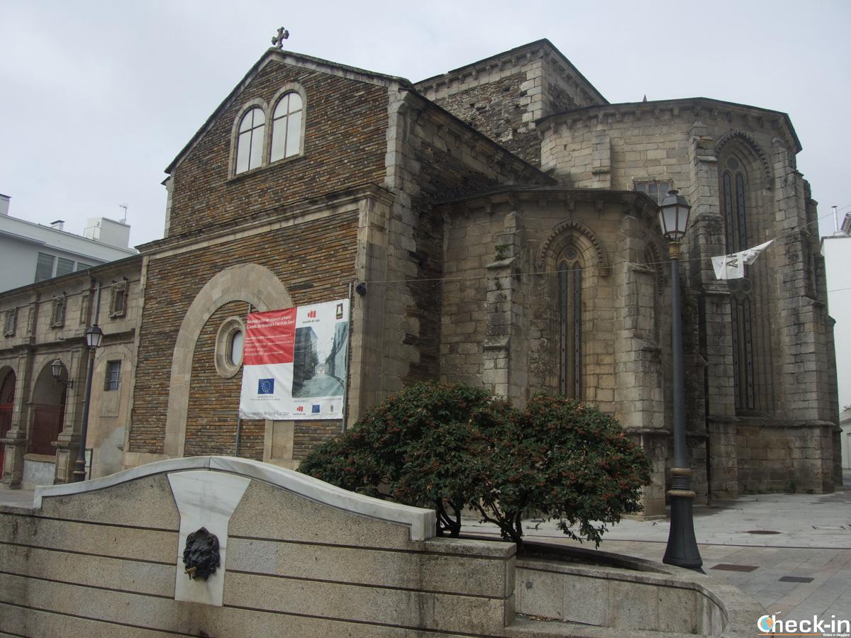 La Igrexa do Convento de San Domingos en Lugo - Galicia, España