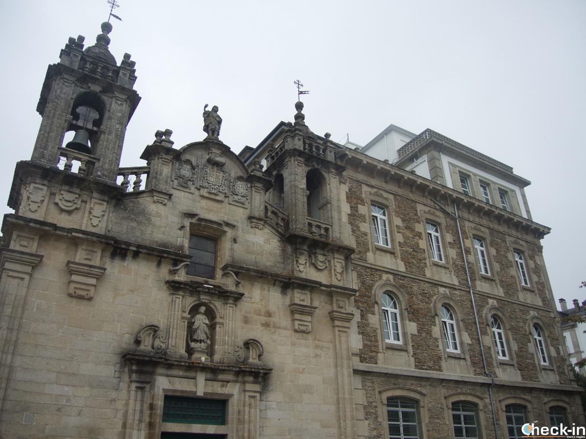 La Igrexa de S. Froilán en la parte norte del casco antiguo de Lugo - Galicia, España