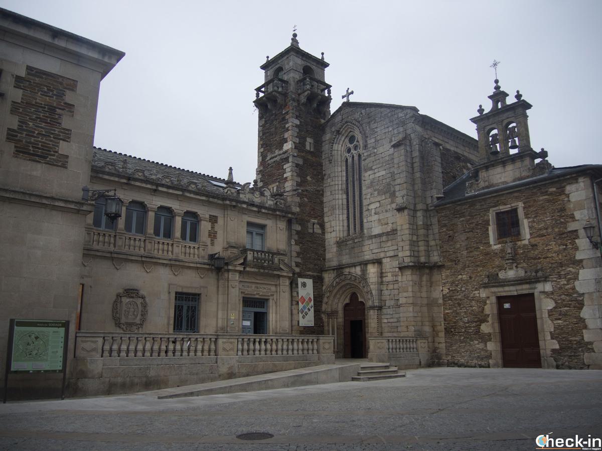 L'edificio che ospita il Museo Provincial di Lugo in Spagna