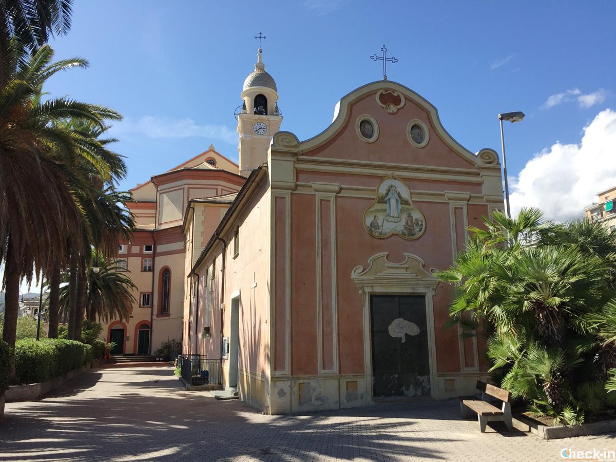 L'oratorio di San Lorenzo a Cogoleto (GE)
