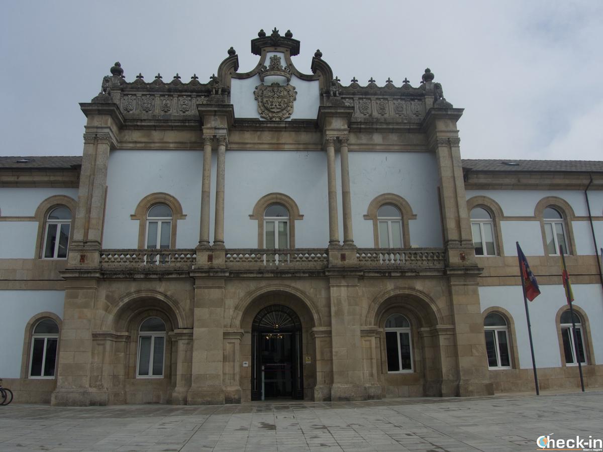 El palacio Pazo San Marco, sede de la provincia de Lugo - Galicia, España