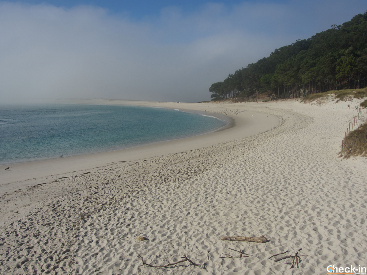 La Playa de Rodas en las Islas Cíes - Vigo, Galicia (España)