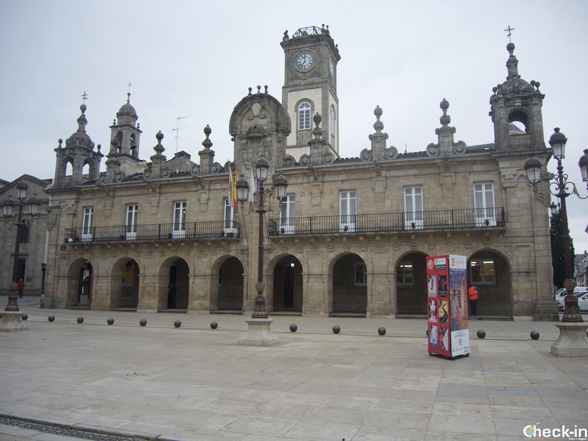 Il Municipio di Lugo in Plaza Mayor