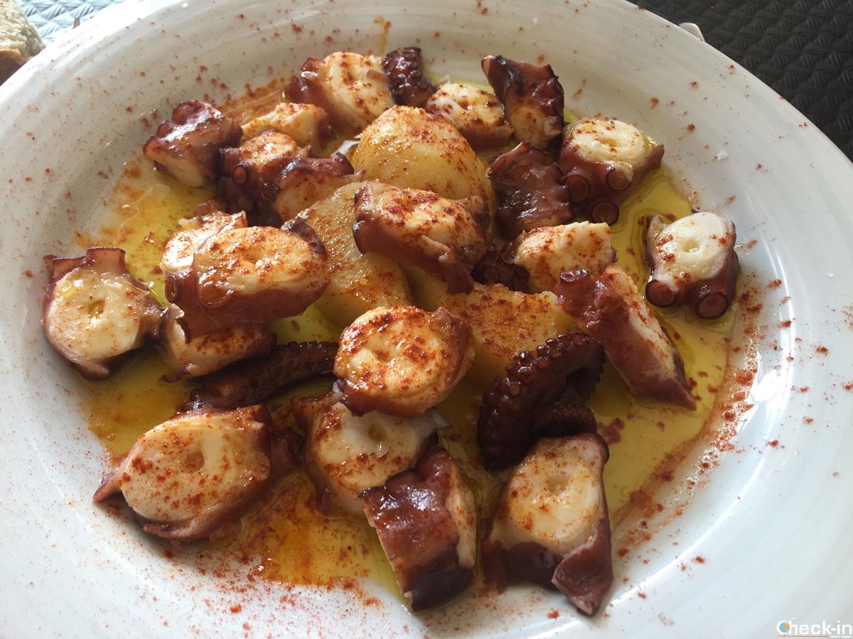Comer típico en Galicia: el pulpo a la gallega