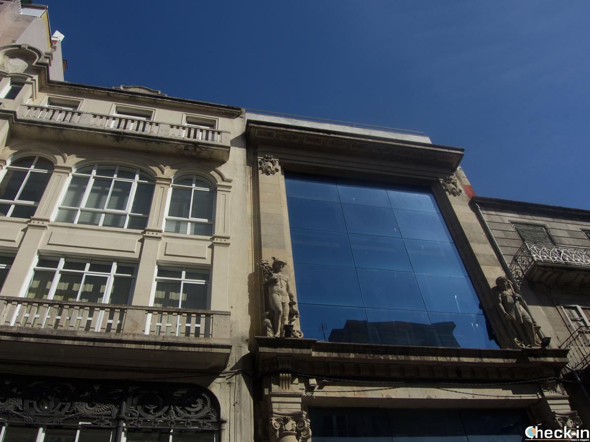 Edifici di Rúa do Príncipe a Vigo - Galizia, Spagna