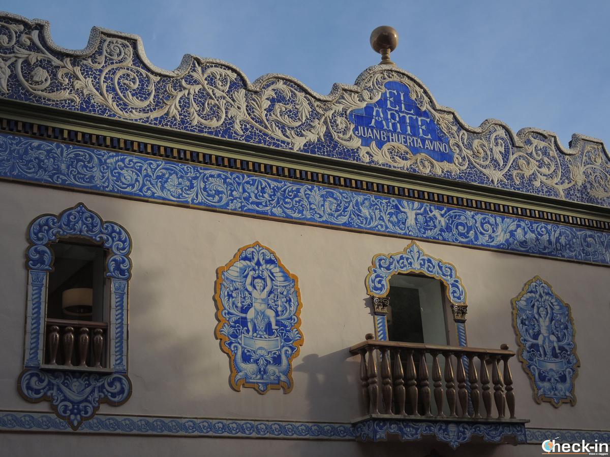 """Edificio """"El Arte"""", sede dell'ufficio del Turismo di Manises, provincia di Valencia - Spagna"""