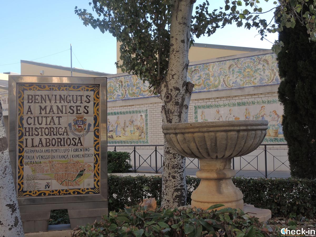 Ingresso del Mercado Municipal di Manises, Spagna