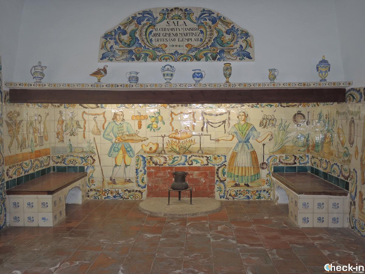 Visita del Museo della Ceramica di Manises - Valencia, Spagna