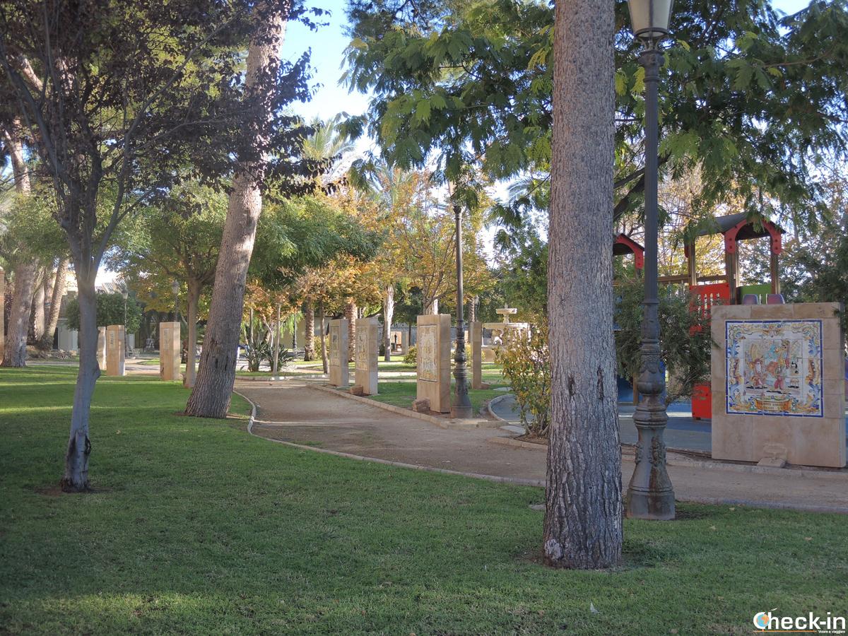 Il Parque El Filtres di Manises - Valencia, Spagna