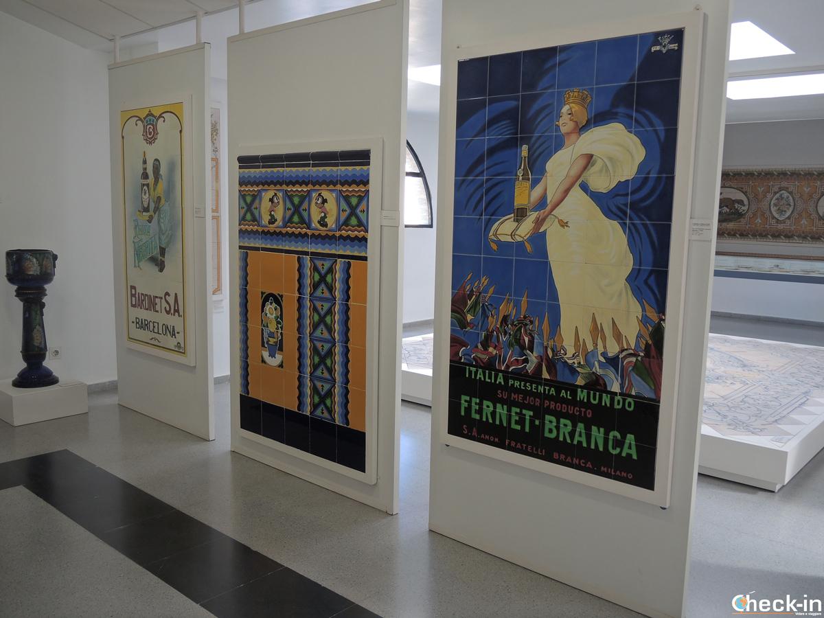 """L'uso """"recente"""" della ceramica - Museo de la Ceramica di Manises, Valencia"""