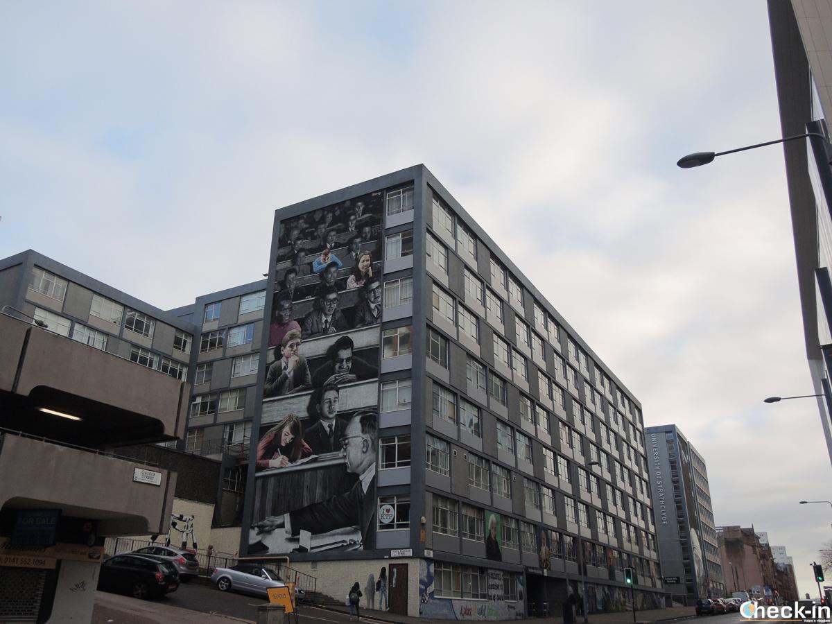 Il murales più largo della Gran Bretagna si trova a Glasgow