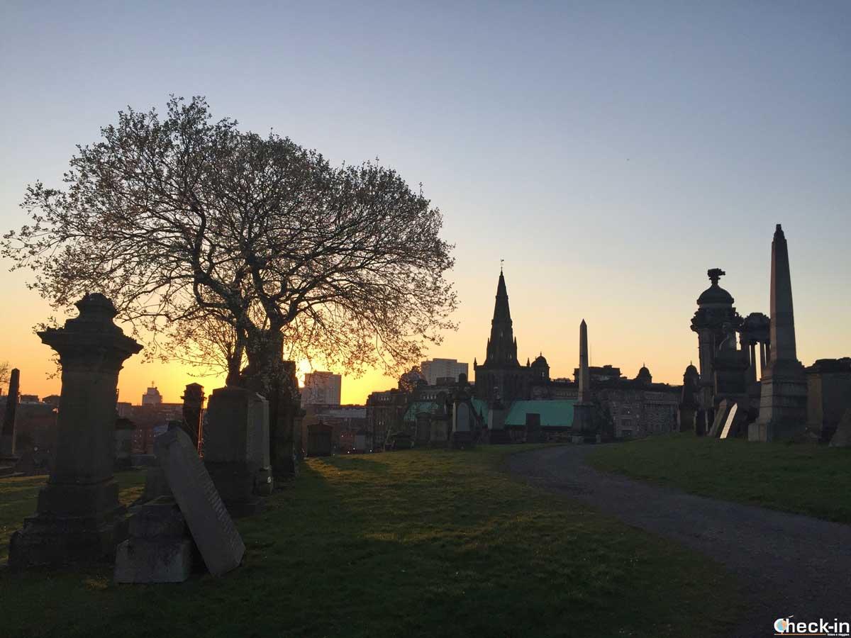 Luoghi suggestivi di Glasgow: la Necropoli dietro alla Cattedrale