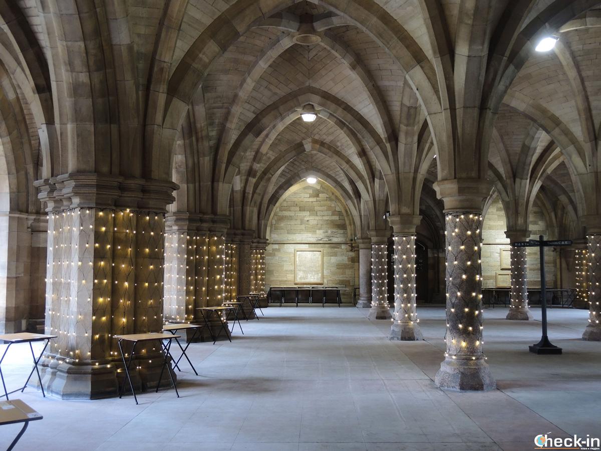 Il Chiostro dell'Università di Glasgow (Scozia)
