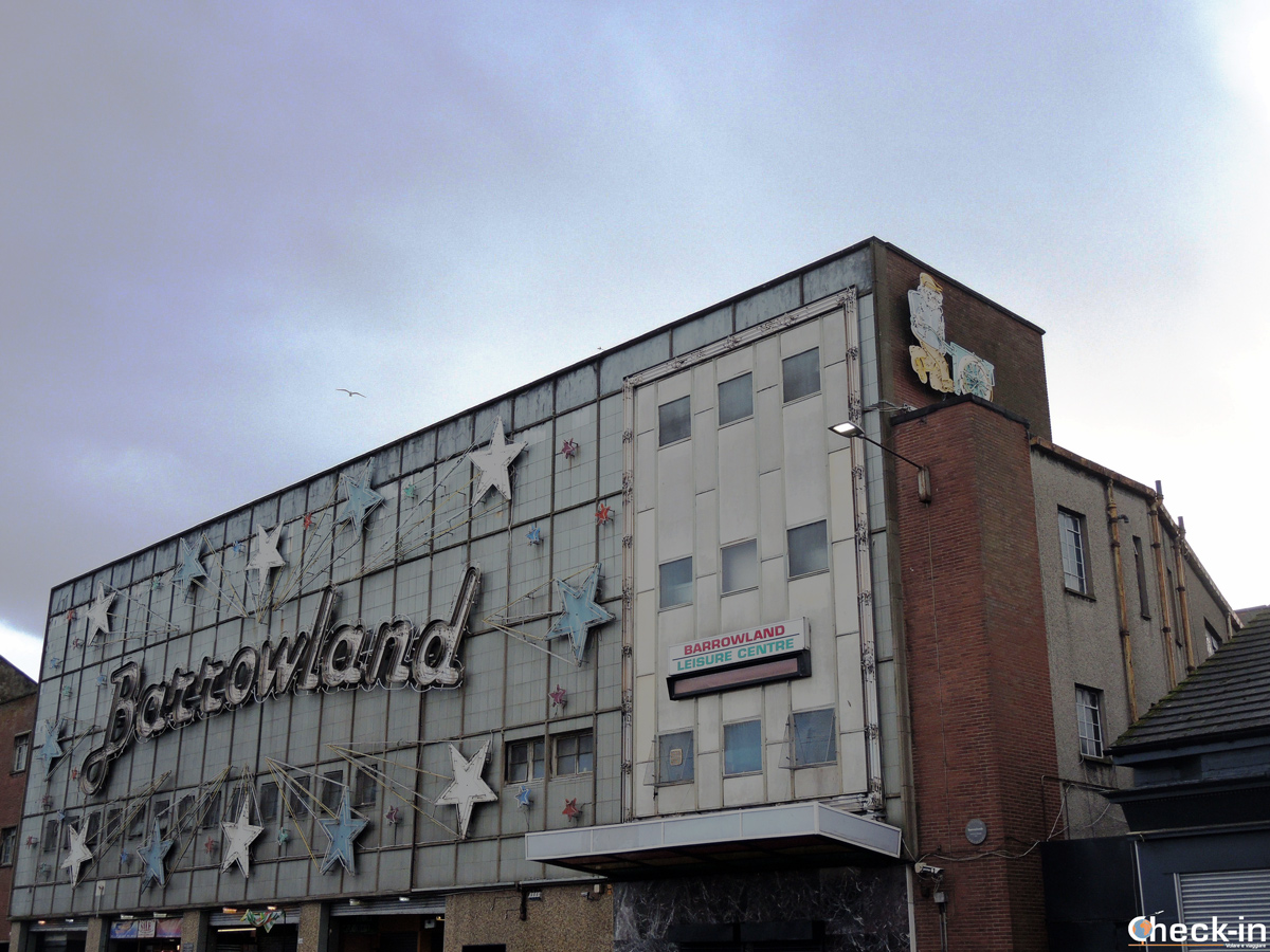 Il celebre Barrowland Ballroom nell'East End di Glasgow