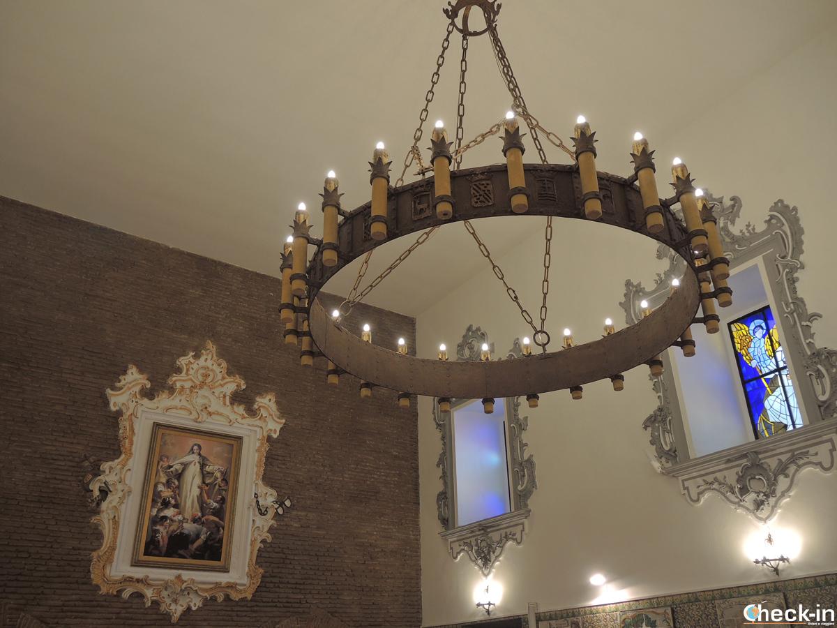 La Cappella all'interno del Monasterio di S. María del Puig - Provincia di Valencia, Spagna