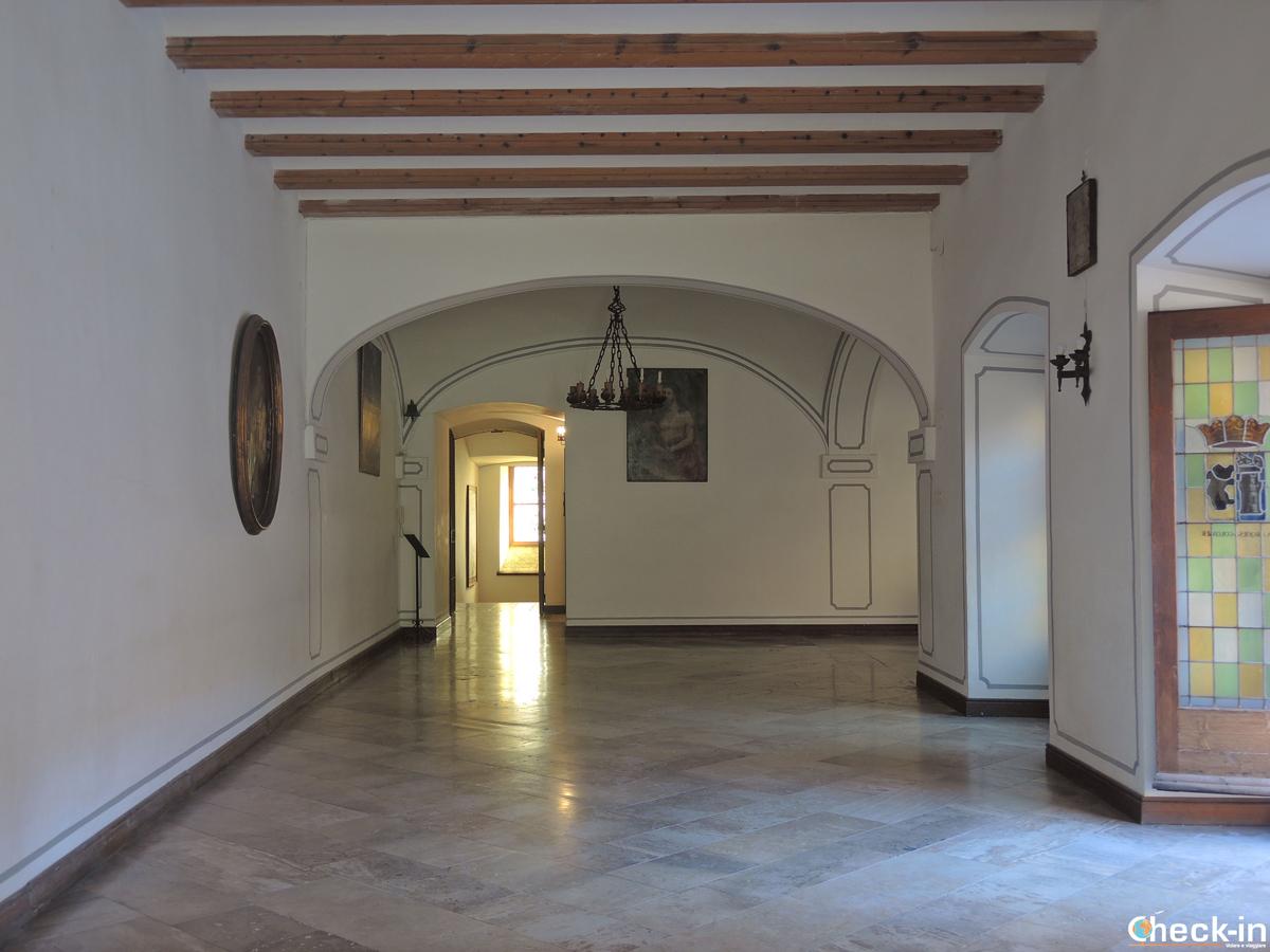 Corridoio del Real Monasterio del Puig - Valencia, Spagna