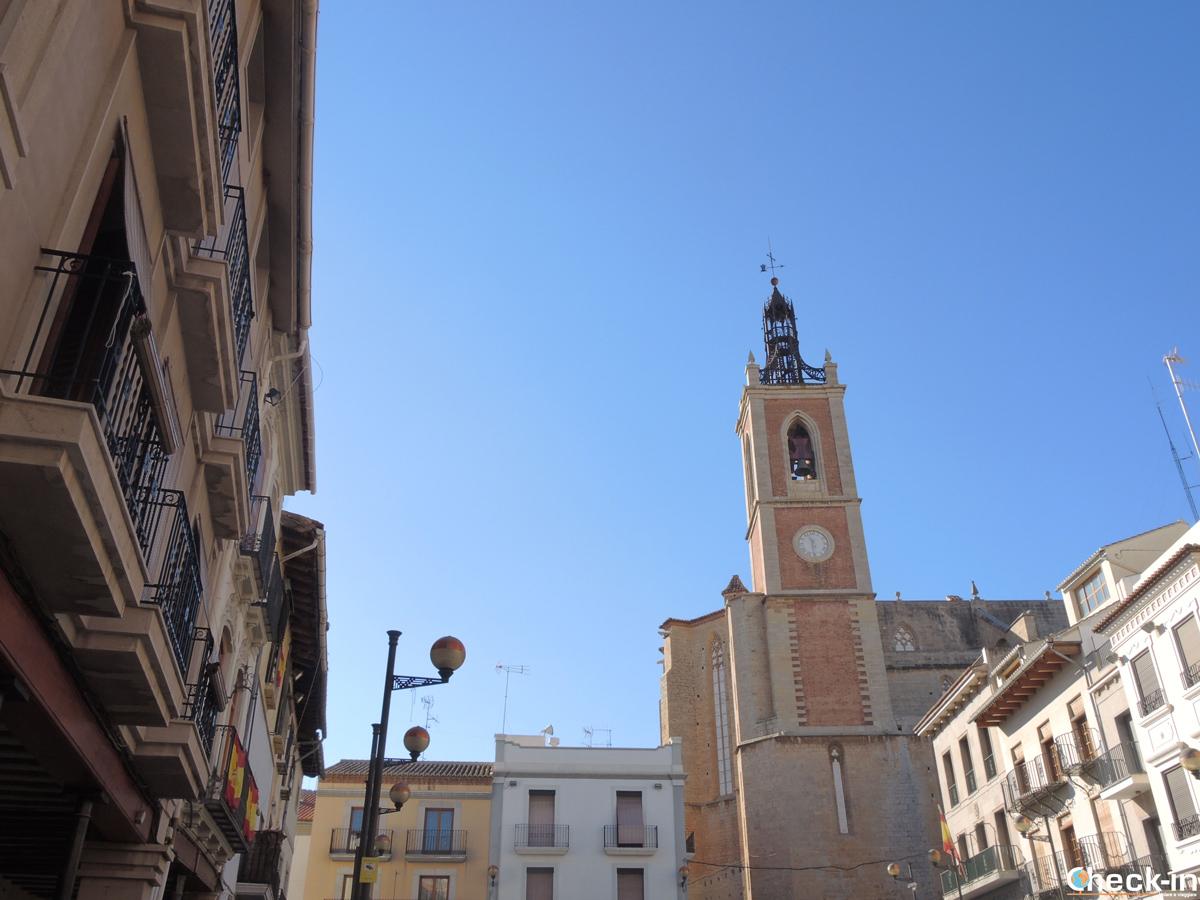 La Plaça Mayor di Sagunto, Valencia (Spagna)