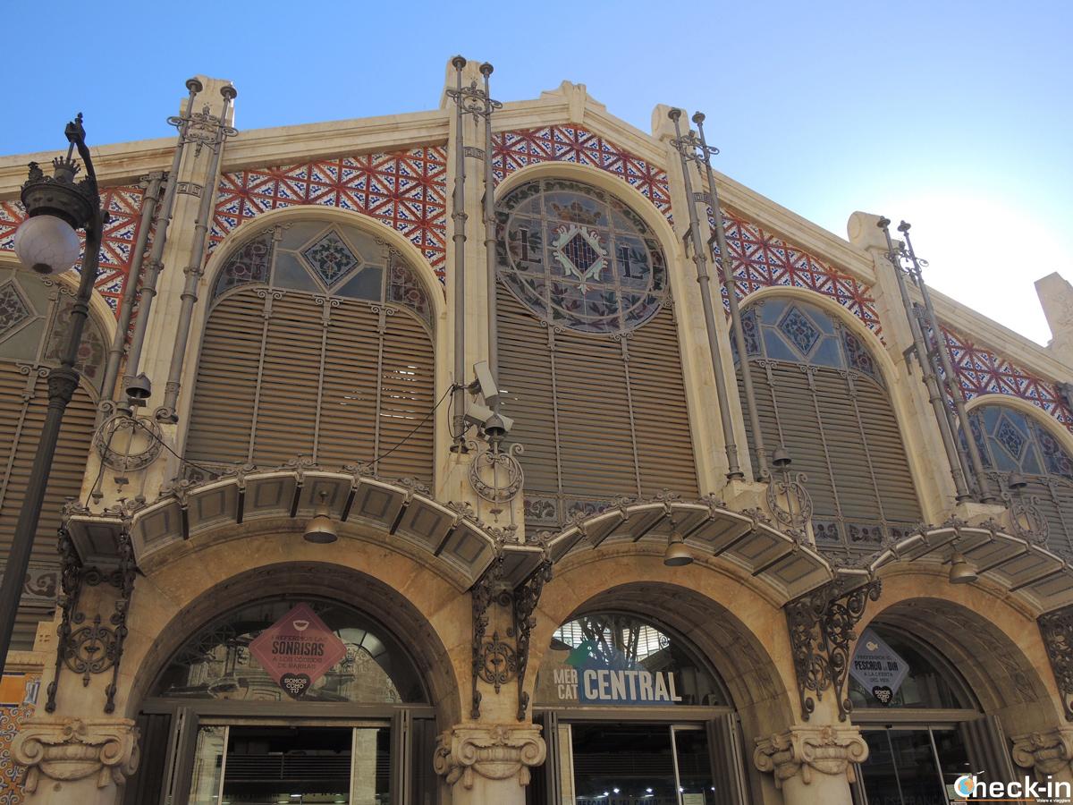 Il Mercado Central nel Barrio del Carmen di Valencia