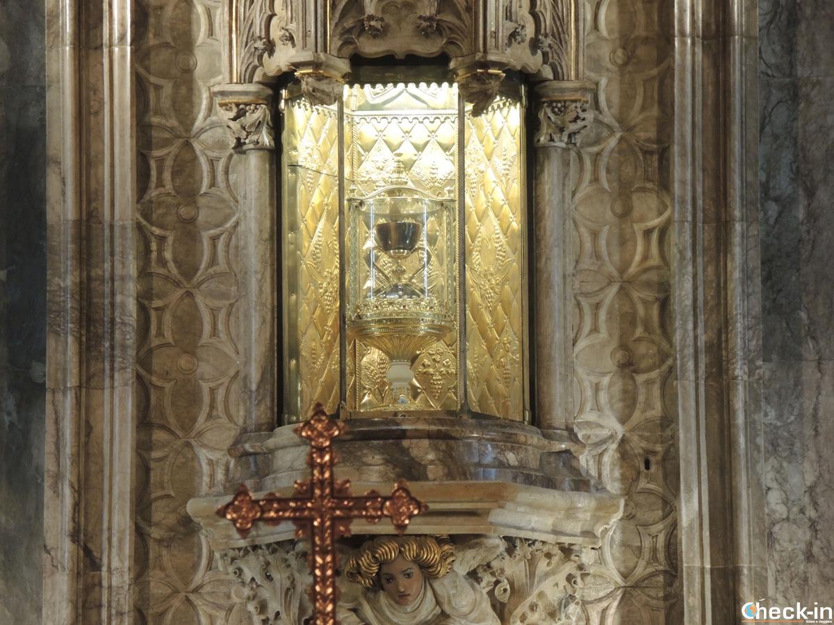 La Cappella del Santo Graal nella Cattedrale di Valencia (Spagna)