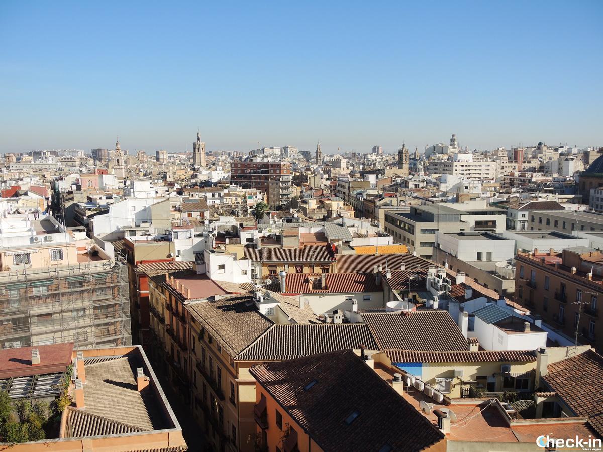 Cosa fare a Valencia: salire sulle Torri di Quart e godersi il panorama