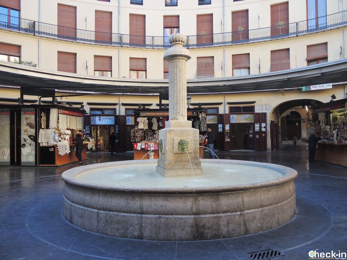 Cosa vedere a Valencia in un giorno: la Plaza Redonda