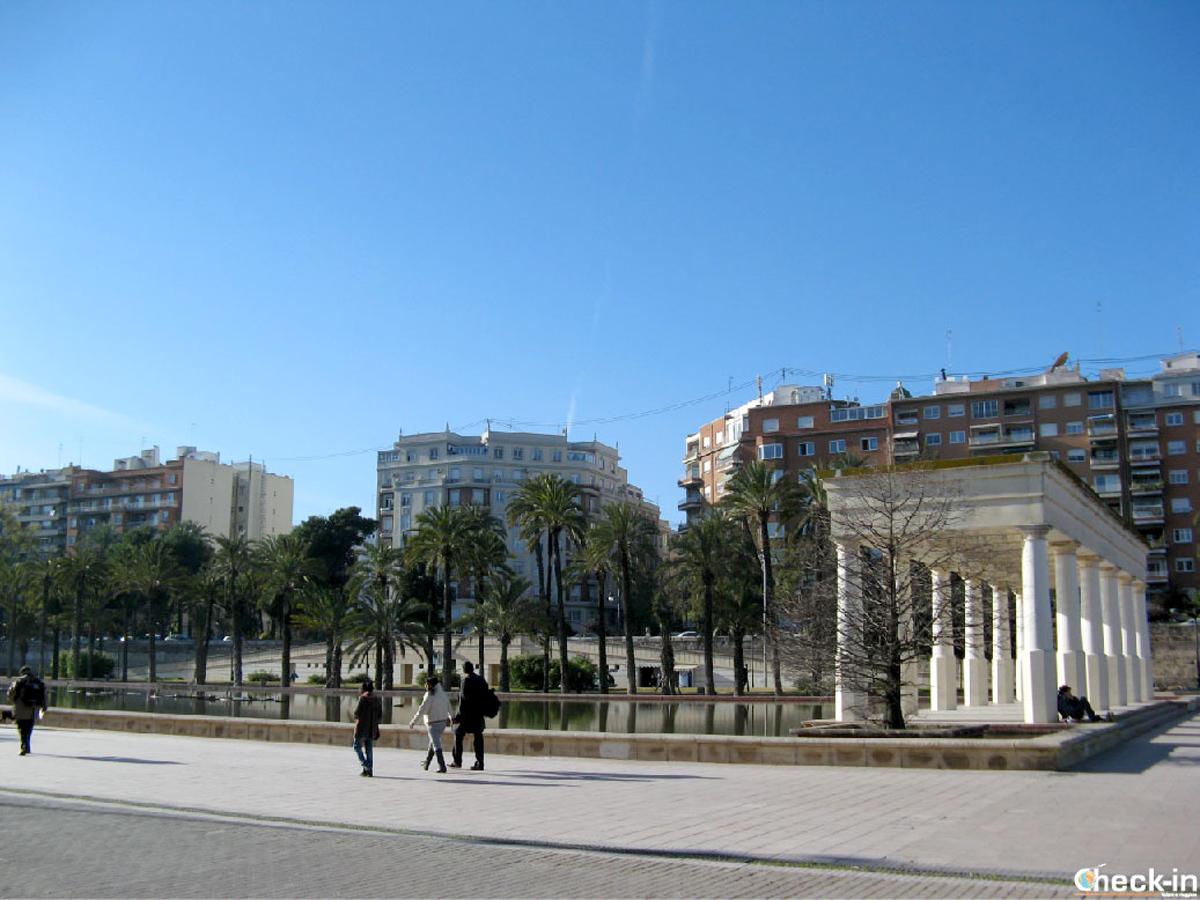 Cosa vedere a Valencia: i giardini del Turia