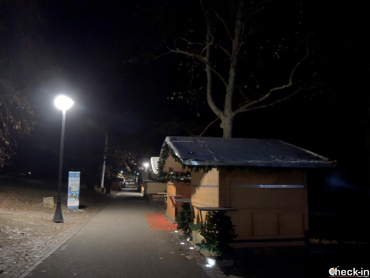 I mercatini di Natale di Levico Terme all'interno del Parco secolare degli Asburgo