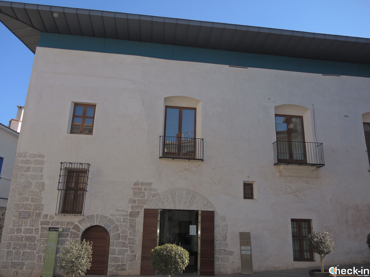 Il Museo Histórico di Sagunto in calle del Castillo