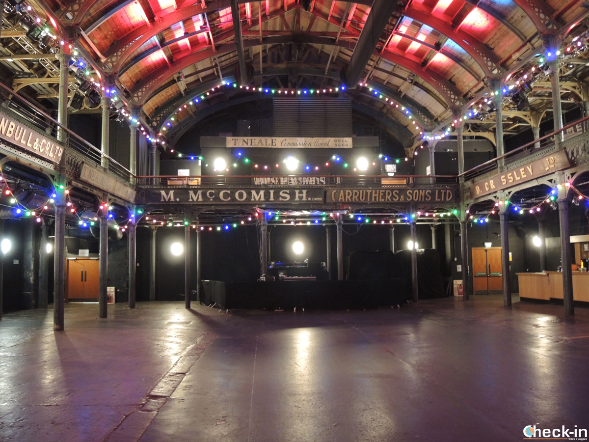 "L'Old Fruitmarket di Glasgow, una delle ""venue"" del Celtic Connections"