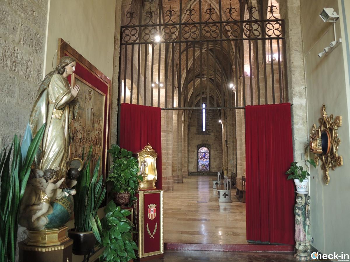 Sacrestia della Chiesa del Real Monasterio de S. María a El Puig - Valencia, Spagna