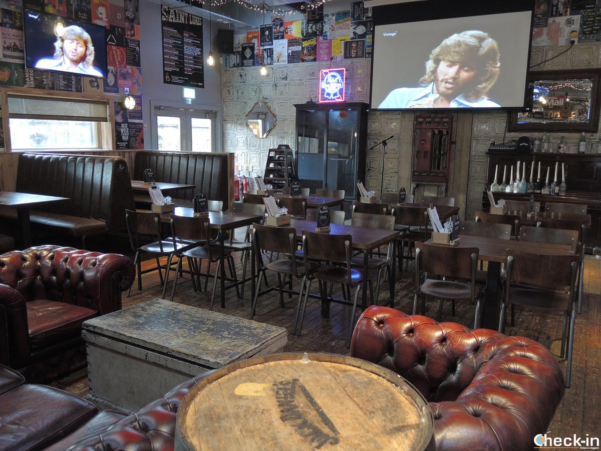 Il ristorante Winged Ox di St Luke a Glasgow, Scozia