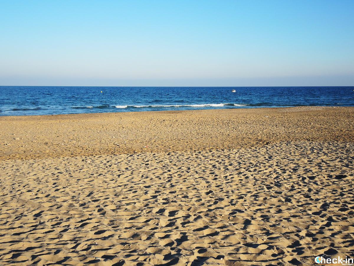 Due passi per la spiaggia di El Saler - Parco Nazionale dell'Albufera di Valencia