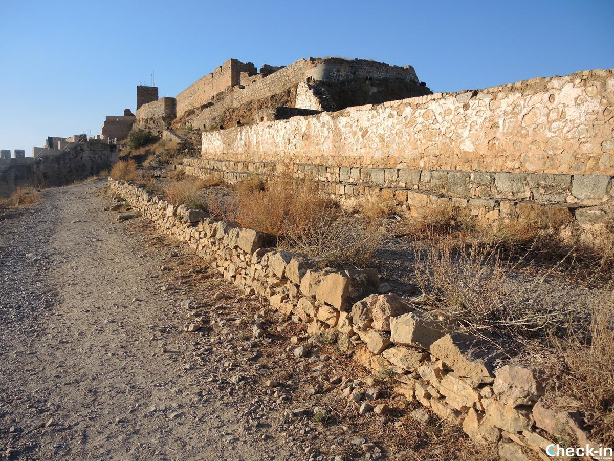 Visita del Castello di Sagunto (Spagna)