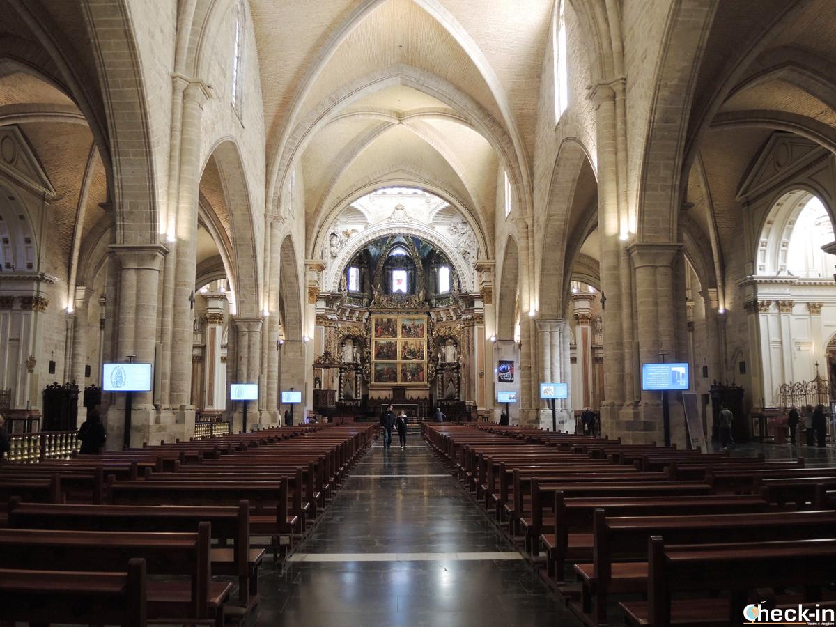Visita della Cattedrale di Valencia (Spagna)