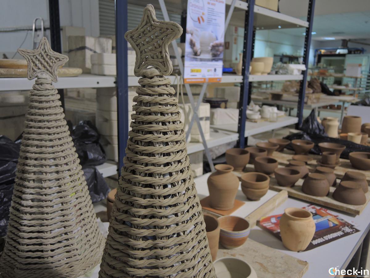Productos navideños en cerámica - AVEC de Manises (España)